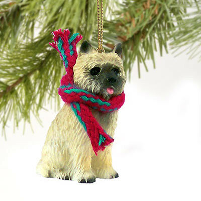 Cairn Terrier Red Dog Tiny One Miniature Christmas Holiday ORNAMENT
