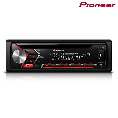 Pioneer DEH-S3000BT Radio de Coche Bluetooth Spotify USB CD Aux para IPHONE