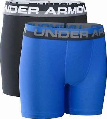 Under Armour Boys O Series Boxer Short / Jock 2 Pack Age 6 8 10 12 14 Years £20