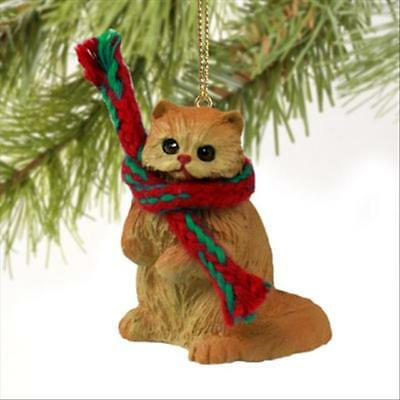 Persian Red CAT Tiny One Miniature Christmas ORNAMENT