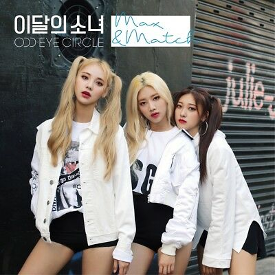 MONTHLY GIRL ODD EYE CIRCLE - Max&Match [Repackage Limited ver.] +Poster