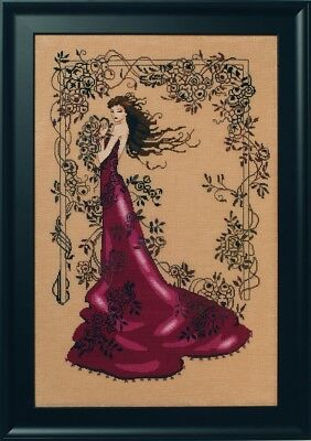 Mirabilia Designs - Lady Of Mystery Cross Stitch Chart Pack (Md152)
