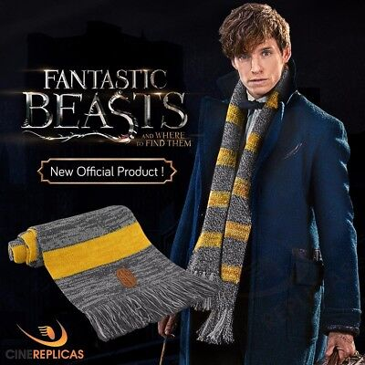 Official SCARF NEWT Scamander from ANIMALS Fantastic Fantastic Beasts SCARF