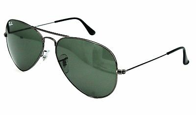 Ray Ban Sonnenbrille / Sunglasses RB3025 Aviator Metal W3350 58[]14 Etui *H