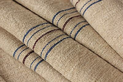 Grain sack grainsack fabric Stair runner / upholstery material European 7.8 YDS