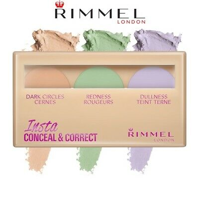 Rimmel Insta Conceal & Correct Concealer Colour Correcting Palette **brand New**