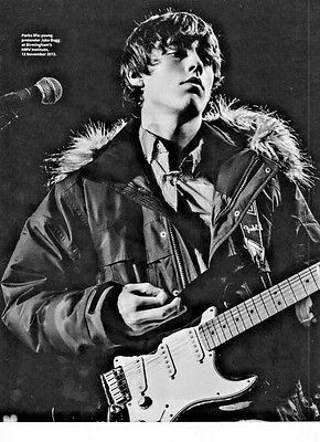 Jake Bugg - Full Page A4-size Magazine Picture Photo Cutting - Onstage 2012