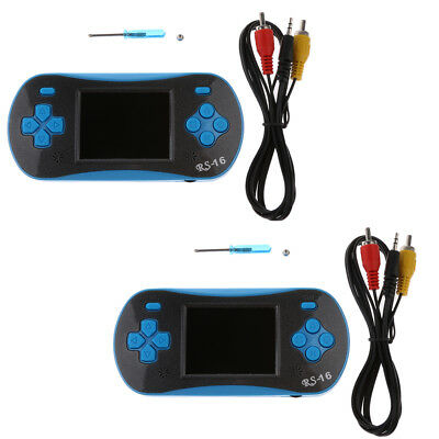 2pcs RS-16 2.5 inch Handheld Video Game Player Console w/ 260 Classic Games