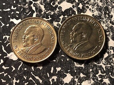 1975 Kenya 5 Cents (2 Available) High Grade! Beautiful! (1 Coin Only)