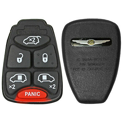 New Factory Genuine Oem Chrysler Town & Country Remote Head Button Key Pad Back