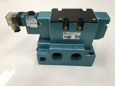 MAC VALVE 6612A-371-PM-501JJ PNEUTECH Direct solenoid and solenoid pilot operate