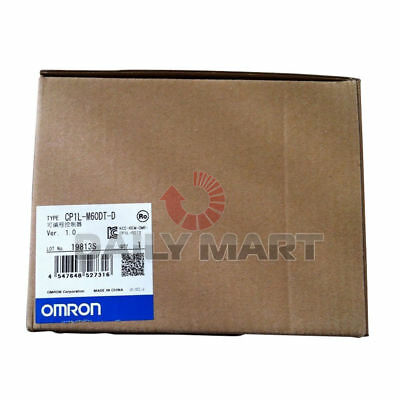 NEW Omron CP1L-M60DT-D CP1 PLC CPU Controllers, 36 IN, 24 NPN OUT, DC IN