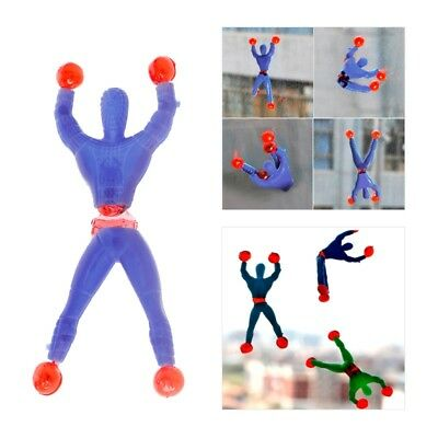 10pcs Sticky Wall Climbing Flip Rolling Men Climber Favors Kids Toy