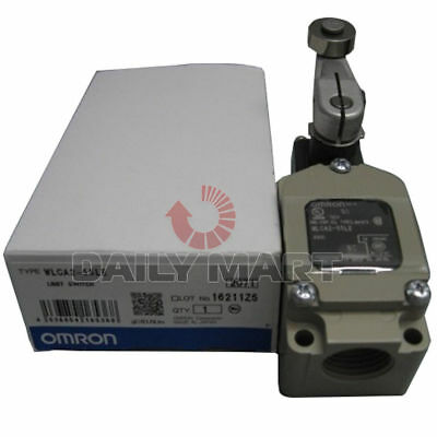 New Omron WLCA2-55LE Vertical Limit Switch SPDT 10A Roller Lever