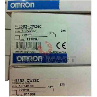 Omron Automation & Safety E6B2-CWZ6C 300P/R Rotary Encoder 524VDC OPEN ABZ PHASE