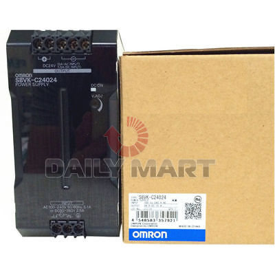 OMRON Automation and Safety S8VK-C24024 Universal I/O Single Phase Power Supply