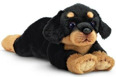 "New BEARINGTON Plush Toy ROTTWEILER ROTTIE Stuffed Animal PUPPY DOG 13"" Soft"