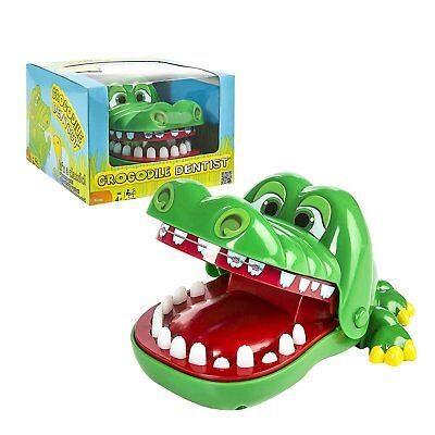 Funny Big Crocodile Mouth Dentist Bite Finger Toy Family Game For Kids TOYS FWED