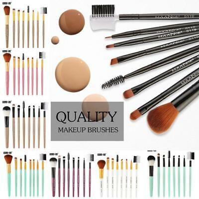 8pcs/Sets Eye Shadow Cosmetic Makeup Brushes Set Lip Eyebrow Brush Kits Tools