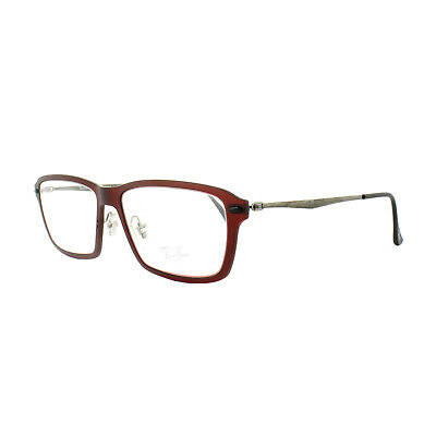 28bfff48b3a RAY-BAN GLASSES FRAMES 7119 8023 Brown Red Havana 55mm Mens Womens ...