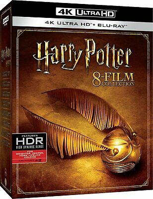 Harry Potter - 8 Film Collection  4 Blu-Ray 4K Ultra Hd