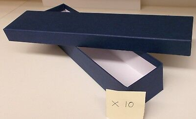 Loco/Locomotive Storage Boxes, Large (Blue) with Lids x 10 - New.