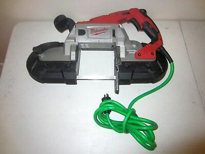 Milwaukee 6232-20 21 Heavy Duty Electric Deep Cut Band Saw Bandsaw Tool W Blade