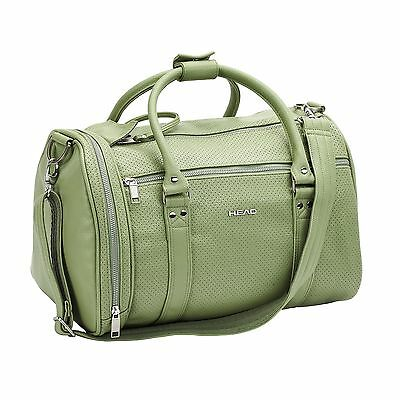 Head Contemporary St Moritz Holdall Vintage Retro Overnight Weekend Travel Bag
