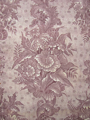 Antique French toile Ikat bed cover c1815 textile quilted textile quilt bed top