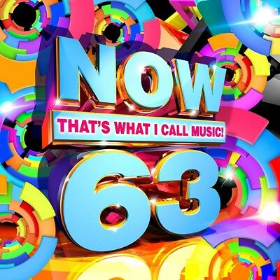 Now, Vol. 63: That's What I Call Music by Various Artists (CD, Aug-2017, Sony)