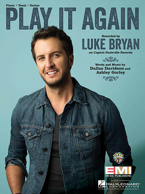 I See You Song by Luke Bryan Piano Vocal Sheet Music Guitar Chords ...