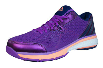 new arrival 3e529 7b6b4 adidas Energy Boost Volley Cortile Interno Scarpe Da Pallavolo Da Donna -  Viola