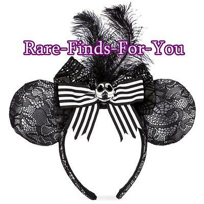 disney parks nightmare before christmas jack skellington minnie ear headband new