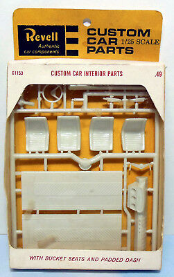 vintage revell parts pack experimental chrome bumpers. Black Bedroom Furniture Sets. Home Design Ideas