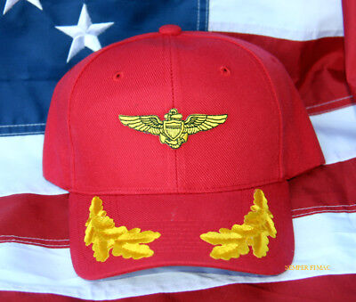 Us Marines Vip Pilot Aviation Aviation Cap Hat Wowmh Maw Pin Up Wing Mr Gift