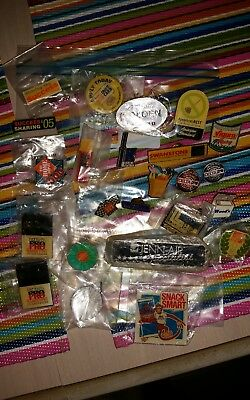 Home Depot lot of 24 lapel/apron pins, collectible, vintage,