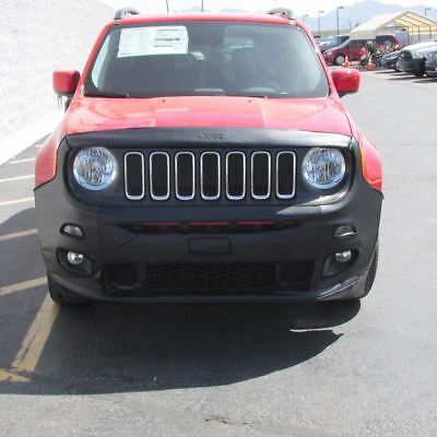 Jeep Renegade Non Trailhawk Front End Cover Black With Jeep Logo NEW OEM MOPAR