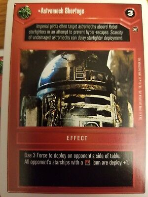 Star Wars CCG WB Premiere Unlimited The Force Is Strong With This One X2 NM-MINT