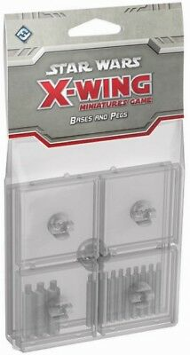 Star Wars  X-Wing Clear Bases & Pegs