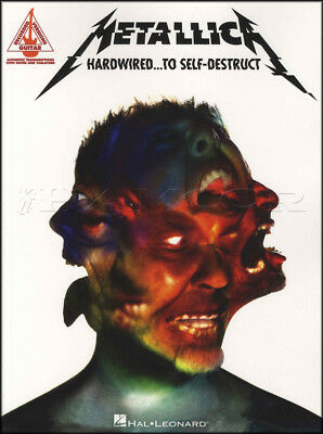 Metallica Hardwired to Self Destruct Guitar TAB Music Book Atlas Rise Confusion