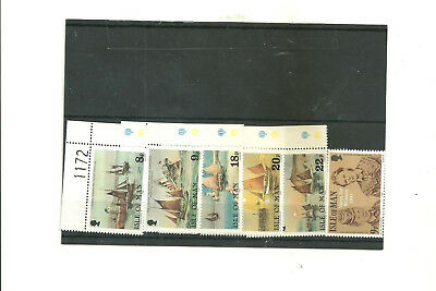 Isle of man 6 commemorative mint stamps