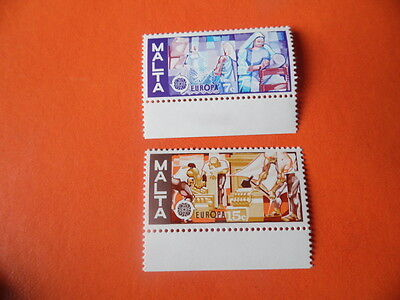 nickstampshop ~~ Malta 1976 ~ Europa Set (MNH) ~ Sg562 - 563