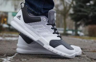 Adidas Mens Essential Star 3 M Trainers White / Black / Grey All Sizes Rrp £50