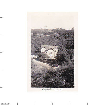 Old Vintage Photo HOUSE VILLA IN THE COUNTRY 1937