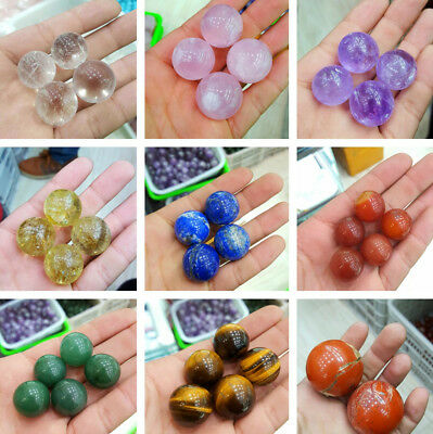 1pcs Natural Stone Quartz Crystal Sphere Ball 20mm 30mm No Hole