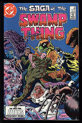 Saga Of Swamp Thing (1982) #22 First Print Alan Moore Yeates Cov Bissette VF/NM