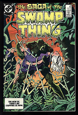 Saga Of Swamp Thing (1982) #23 First Print Alan Moore Yeates Cover Bissette NM-