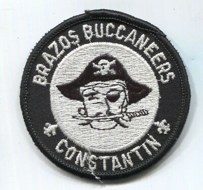 BSA Circle 10 Council Camp Constantin scout patch BRAZOS BUCCANEERS