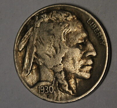(E)**1930-S Buffalo Nickel in Original Condition *Combined and Low Shipping*