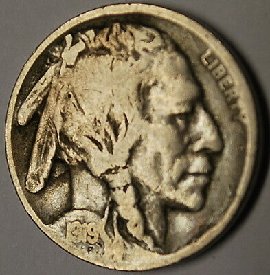 (M)**1919-S Buffalo Nickel in Fine Condition **Combined and Low Shipping**